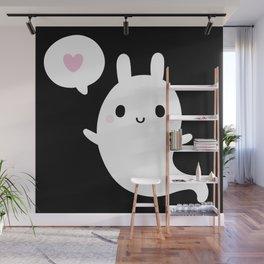 Cutie Bunny Ghost Wall Mural