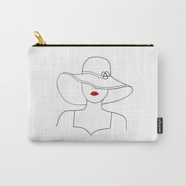 Red Lipstck Carry-All Pouch