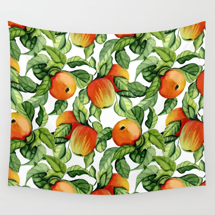 Ripe apples Wall Tapestry
