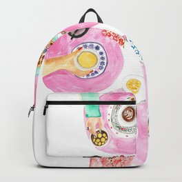 Breakfast with friends  Backpack