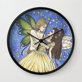 Forever yours. Wall Clock