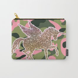Girl Power Flying Unicorn Carry-All Pouch