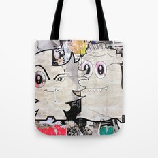 Two Sugar Monsters Tote Bag