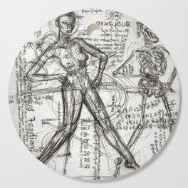 Clone Death - Intaglio / Printmaking Cutting Board