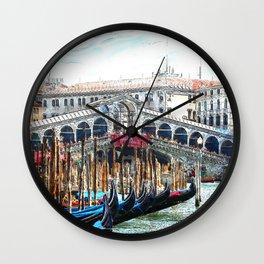 Venice_20170601_by_JAMFoto Wall Clock