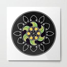 Flower Mandala #1 Metal Print