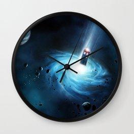 Tardis Doctor Who Wall Clock