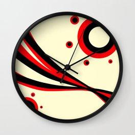 Liquorice Wall Clock