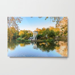 Autumn park Metal Print