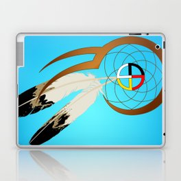 dreamcatcher blue Laptop & iPad Skin
