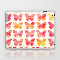 Butterflies Watercolor 1 Laptop & iPad Skin