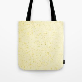 Soft Golden Yellow Champagne Wedding Fizzy Bubbles Tote Bag