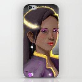 Imagined Lady Portrait iPhone Skin