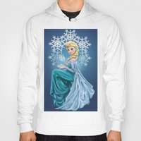 elsa Hoodies featuring Elsa by toibi