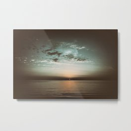 Sunset in camera obscura Metal Print