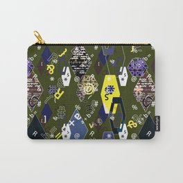 Children's school pattern. Collage. Carry-All Pouch