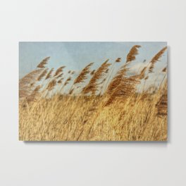 Feeling That Breeze Metal Print