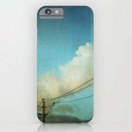 Late Evening Sky iPhone & iPod Case