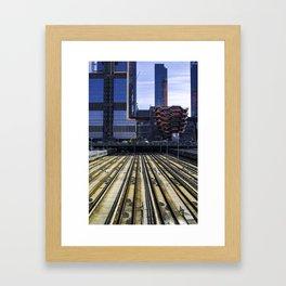 Hudson Yards Framed Art Print