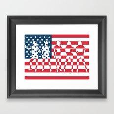 America the Beautiful  Framed Art Print