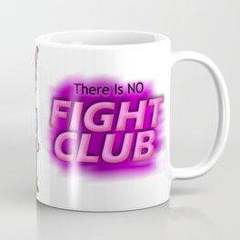 Edward Norton and Brad Pitt as Tyler Durden in...  The Fight Club Cartoon!  Coffee Mug