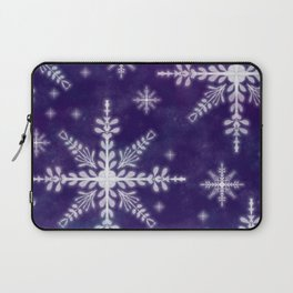First Snow Flakes Laptop Sleeve