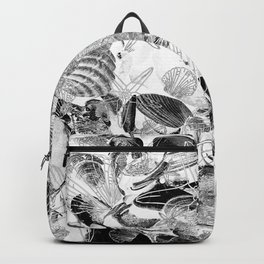 Shells V03 B&W Backpack