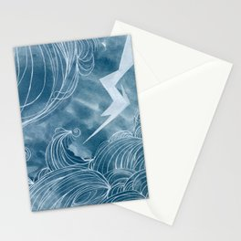 The wave in a bubble Stationery Cards