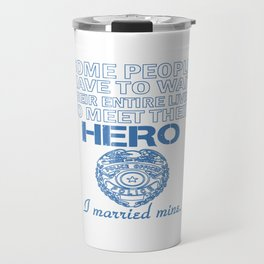 Police Officer's Wife Travel Mug