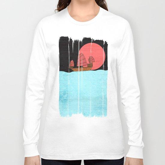 Oriental Sailing Long Sleeve T-shirt