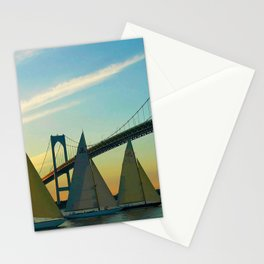 America's Cup Races - Newport, Rhode Island Stationery Cards