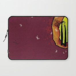 For you - maroon Laptop Sleeve