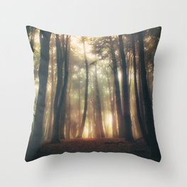 Greenlitwoods Throw Pillow