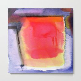 Abstraction No.204a by Kathy Morton Stanion Metal Print