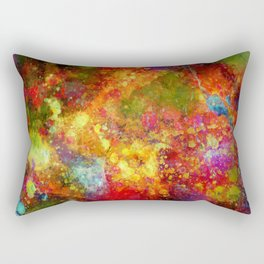 The Eye Of Craziness Rectangular Pillow