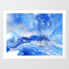 Forever Waves Art Print