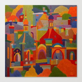 The Cathedrals Canvas Print