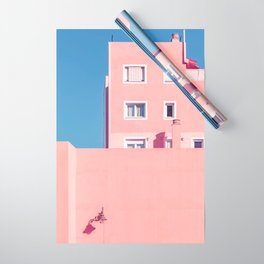 Sunny House And Blue Sky Wrapping Paper
