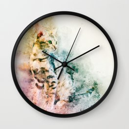 Dreaming cat Wall Clock