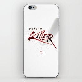 Ps*cho Killer iPhone Skin