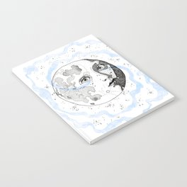 Moon Man Notebook