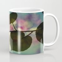 sia Mugs featuring Kiwi leaves by Angela Bruno