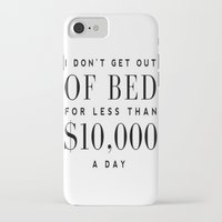 bed iPhone & iPod Cases featuring BED by I Love Decor