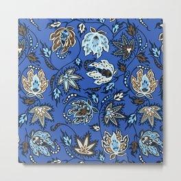 Protea Batik Hawaiian Tropical Floral Metal Print