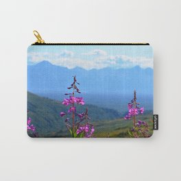 Fireweed Overlooking Mat-Su Valley, Alaska Carry-All Pouch