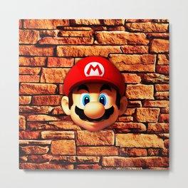 Mario Bross Metal Print