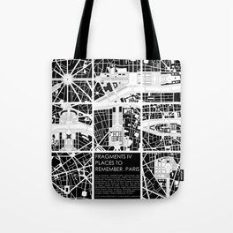 Fragments IV Paris Tote Bag