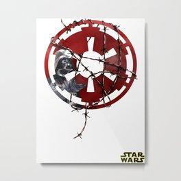 the empire / barbwire  Metal Print