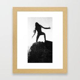 DARK PT 2 Framed Art Print