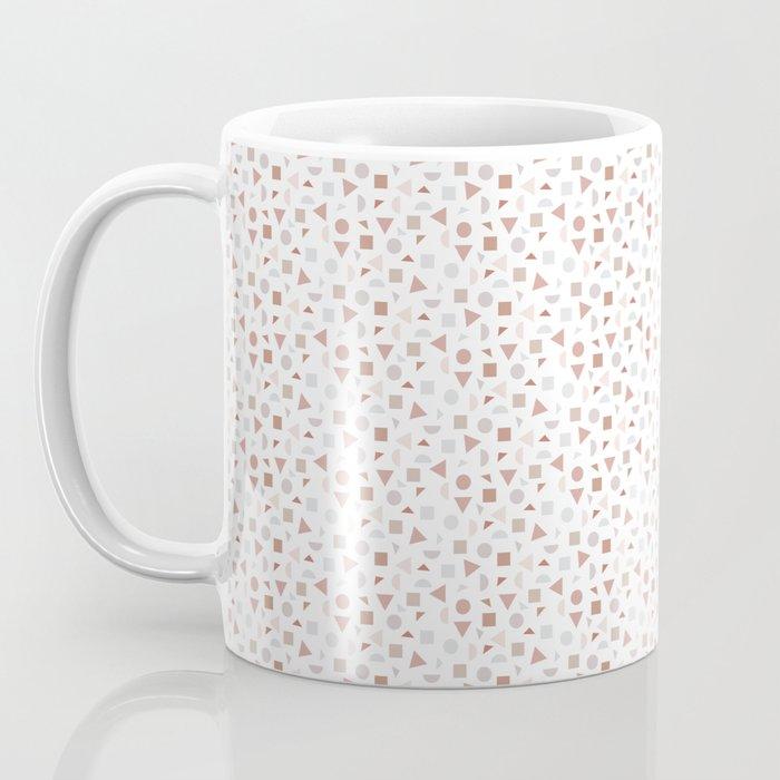geometric terrazzo Coffee Mug